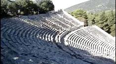 希腊旅游-埃皮达鲁斯剧场