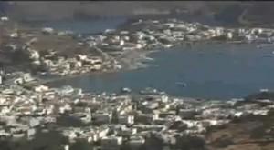 希臘旅遊–對著愛琴海的拔摩島